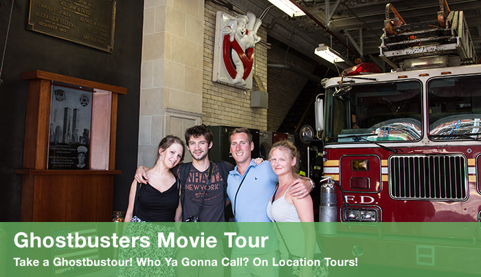 Ghostbusters Movie tour
