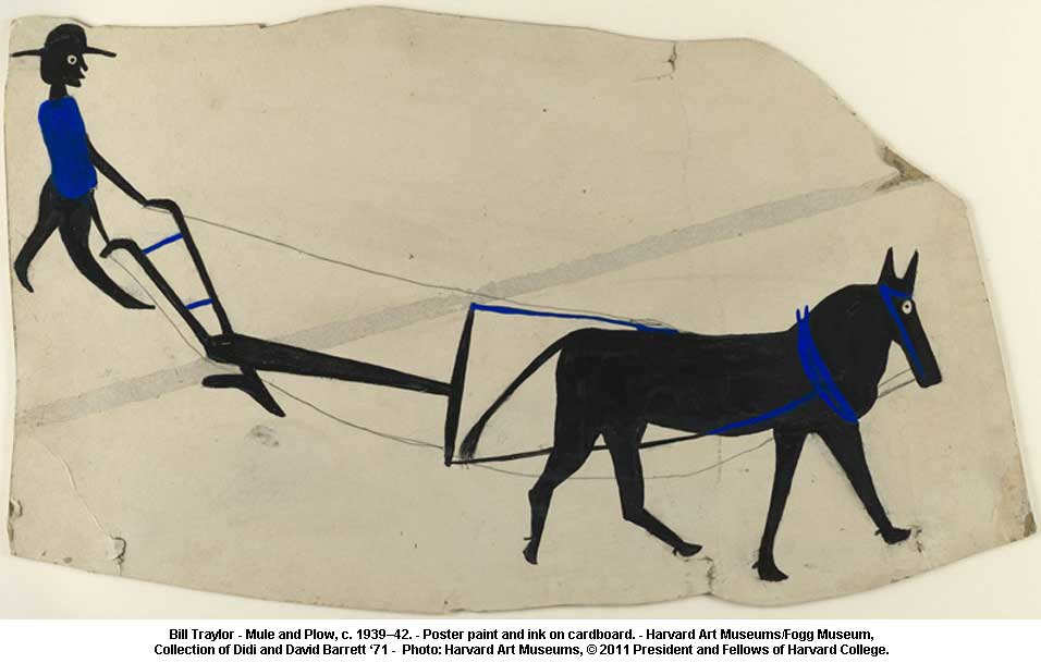 Bill-Traylor-Mule-and-Plow