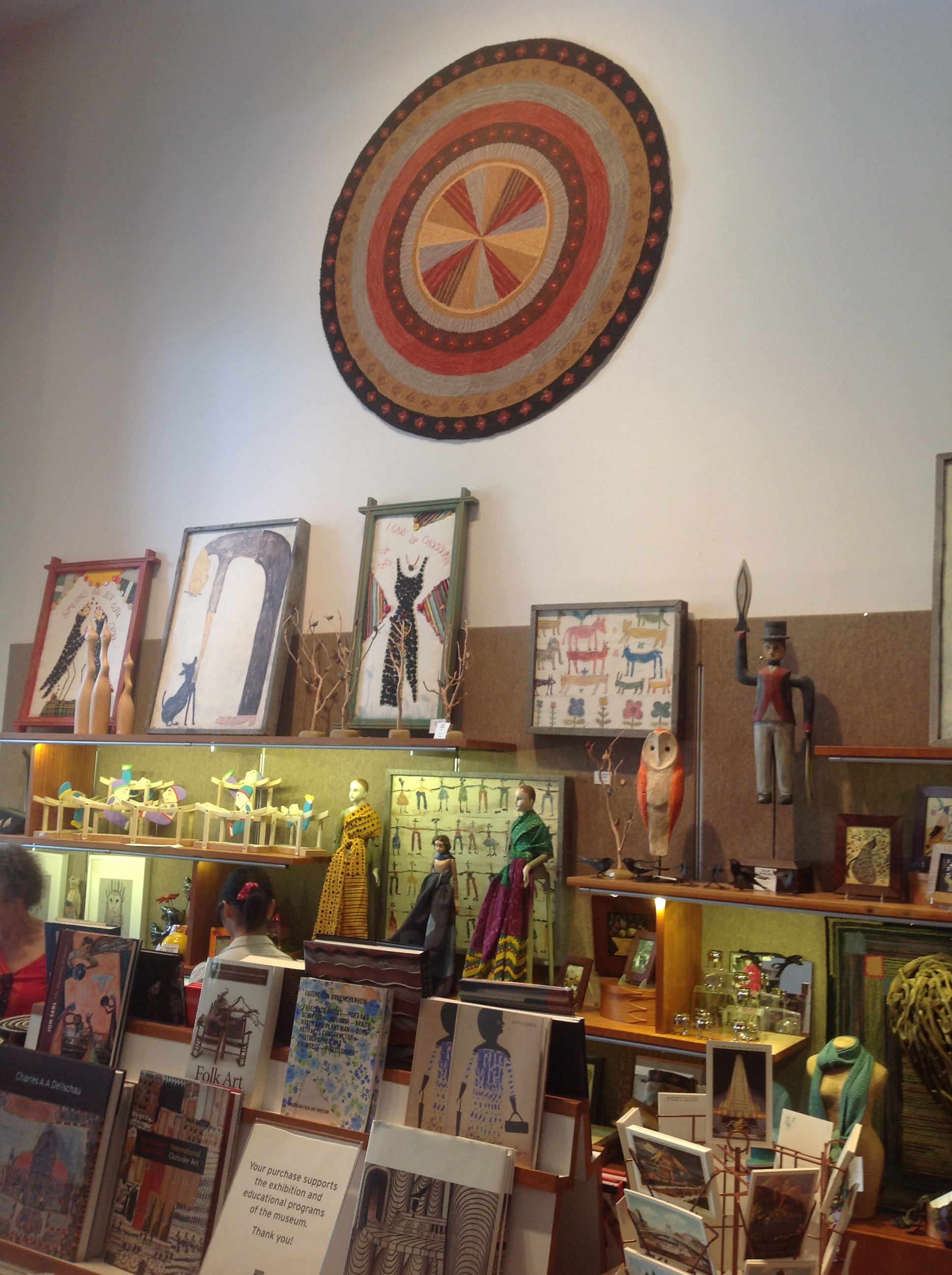 American Folk Art Museums gift shop